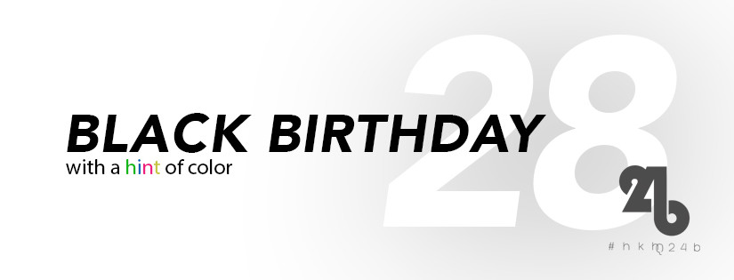 Black birthday documented #hkhq24b