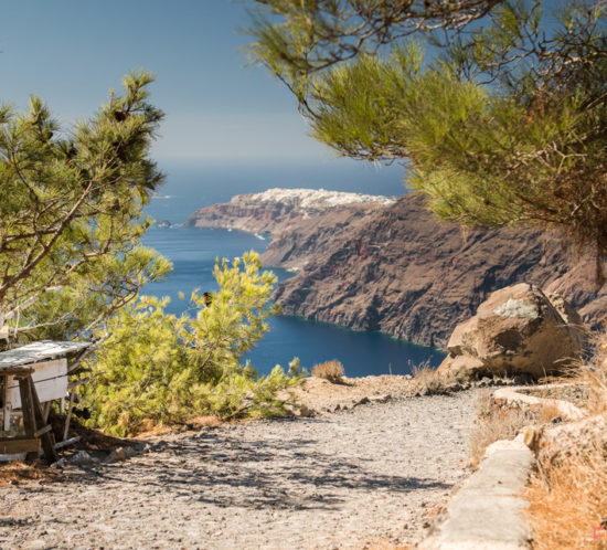 Fira to Oia trail